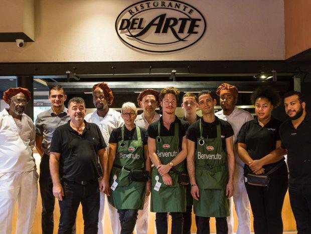 equipe-restaurant-del-arte